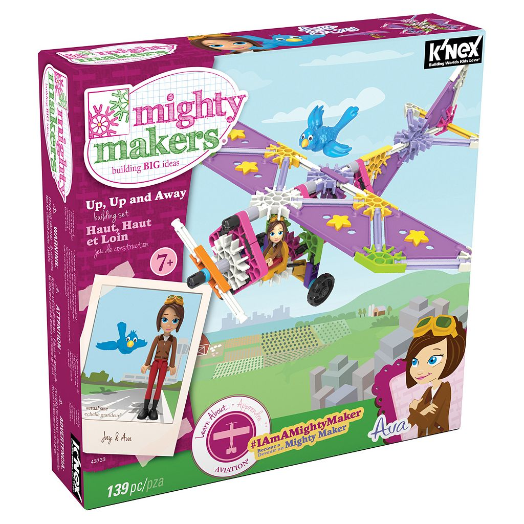 K'NEX 139-pc. Mighty Makers Up, Up And Away Building Set