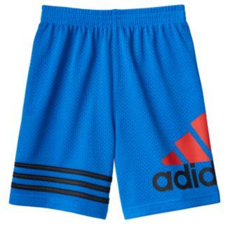 Boys 4-7x adidas Striped Mesh Shorts