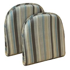 The Gripper Tolisa Stripe Chair Pad 2-pk.