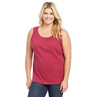 Plus Size Maternity Oh Baby by Motherhood™ Pull-Down Nursing Tank