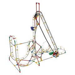 K'NEX 561 pc Blizzard Blast Roller Coaster Building Set