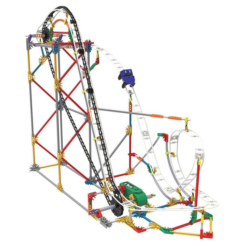 K'NEX 561-pc. Blizzard Blast Roller Coaster Building Set