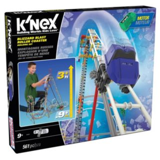 K'NEX 561-pc. Blizzard Blast Roller Coaster Building Set