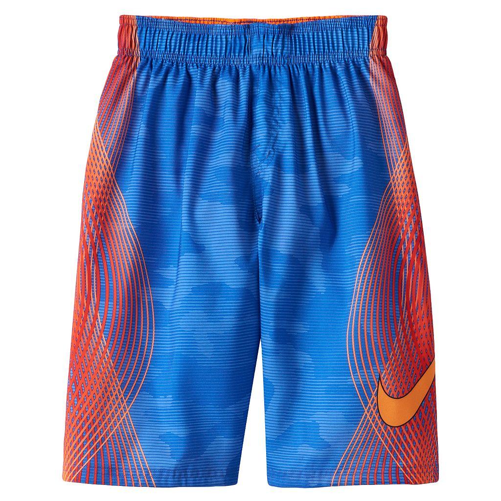 Boys 8-20 Nike Swim Print Swim Trunks