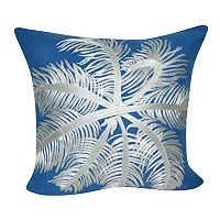 Loom and Mill Coral Sea Life Throw Pillow