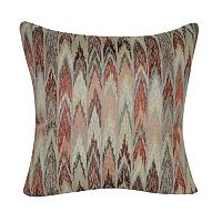 Loom and Mill Muted Ikat Throw Pillow