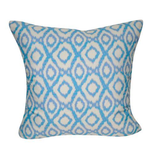 Loom and Mill Ikat Diamonds Geometric Throw Pillow