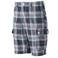 Men's Urban Pipeline™ Plaid Cargo Shorts