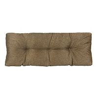 The Gripper Omega Tufted Bench Chair Pad