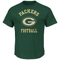 Men's Majestic Green Bay Packers Defensive Front Tee