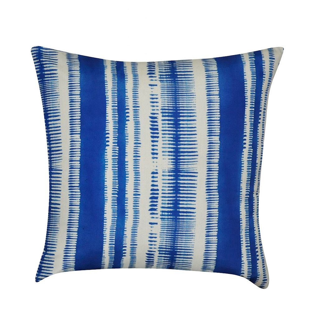 Loom and Mill Ikat Stripes Throw Pillow
