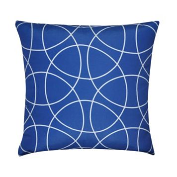 Loom and Mill Blue Circles Throw Pillow
