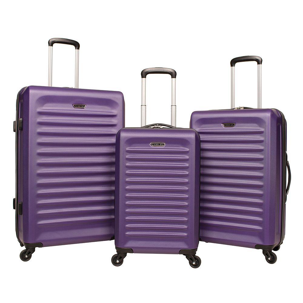 ba5f328f9 Prodigy Velocity 3-Piece Hardside Spinner Luggage Set