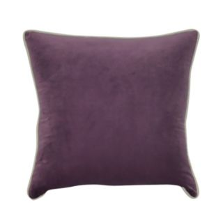 Loom and Mill Velveteen Solid Throw Pillow