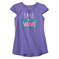Girls 4-7 Jumping Beans® High-Low Glitter Graphic Tunic