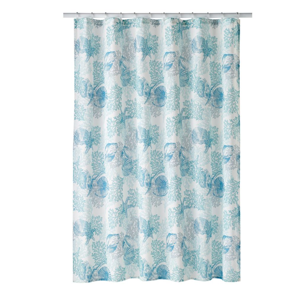 Sonoma Goods For Life Seaside Print Shower Curtain