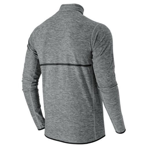 Men's New Balance Space-Dyed Quarter-Zip Pullover