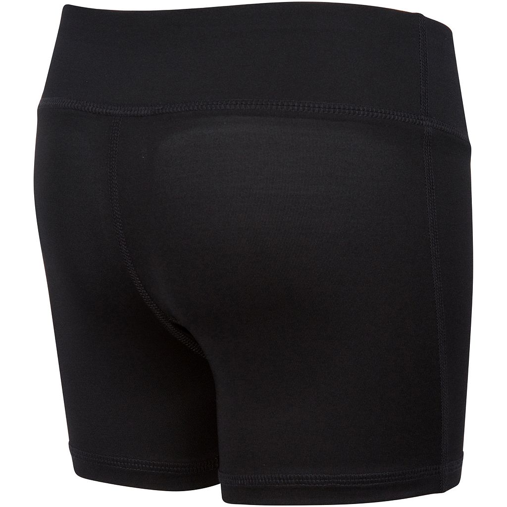 Girls 7-16 New Balance Black Performance Bike Shorts