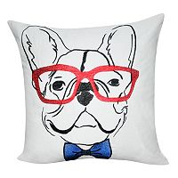 Loom and Mill French Bulldog Throw Pillow