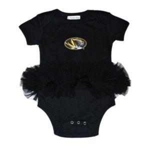 Baby Missouri Tigers Tutu Bodysuit