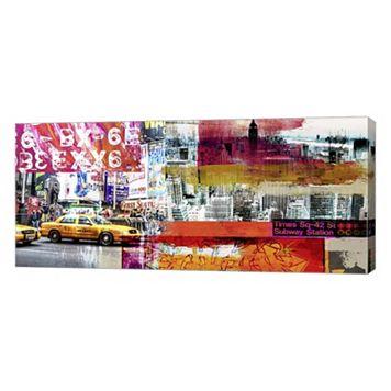 Metaverse Art Urbana I Canvas Wall Art