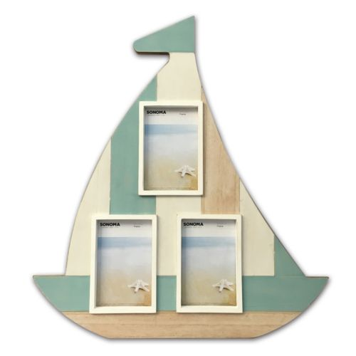 SONOMA Goods for Life™ Sailboat 3-Opening Collage Frame