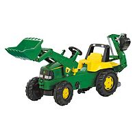 John Deere Backhoe Loader Ride-On by Kettler