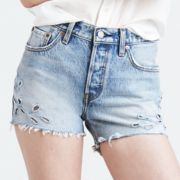 Women's Levi's 501 Ripped Jean Shorts