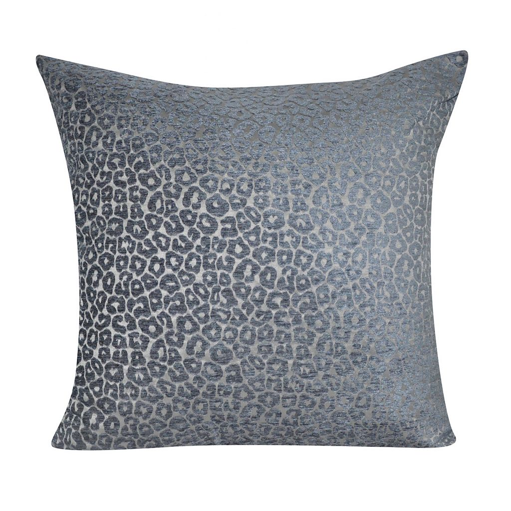 Loom and Mill Velveteen Leopard Throw Pillow