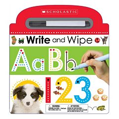 Write & Wipe ABC Board Book