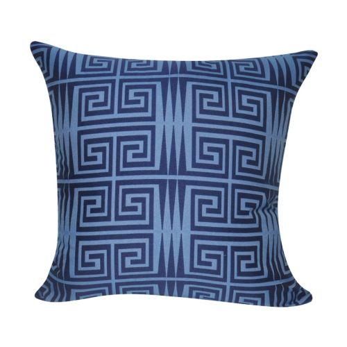 Loom and Mill Greek Key Geometric I Throw Pillow