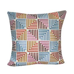 Loom and Mill Multi Geometric I Throw Pillow