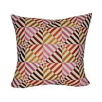 Loom and Mill Multi Geometric II Throw Pillow