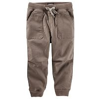 Boys 4-8 OshKosh B'gosh® Ribbed Pork Chop Pocket Twill Jogger Pants