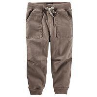 Boys 4-8 OshKosh B'gosh® Ribbed Pork Chop Pocket Twill Jogger Pants