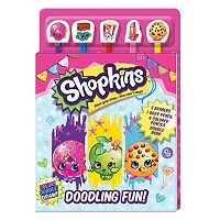 Shopkins Pencil Top Doodle Book