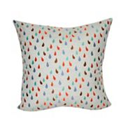 Loom and Mill Warm Raindrops Throw Pillow