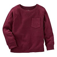Boys 4-8 OshKosh B'gosh® Raglan Thermal Chest Pocket Tee