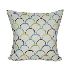 Loom and Mill Multi Scallops Throw Pillow