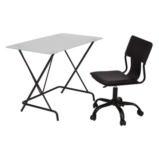OSP Designs Desk and Office Chair 2-piece Set