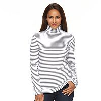 Women's Croft & Barrow® Turtleneck Top