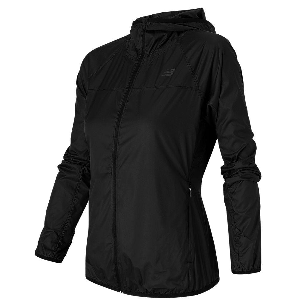 Women's New Balance Windcheater Hooded Running Jacket