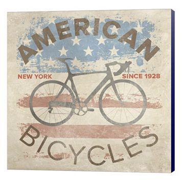 Metaverse Art American Bikes Canvas Wall Art