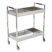 OSP Designs Wilshire Wheeled Bar Cart