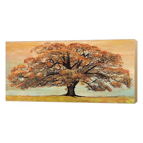 Metaverse Art Oak Canvas Wall Art