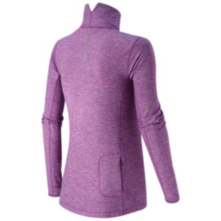 Women's New Balance Impact Ruched Half-Zip Running Top