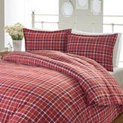 Laura Ashley Lifestyles Highland Check Flannel Duvet Set