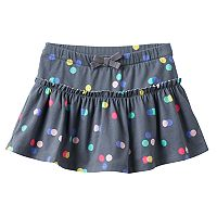 Toddler Girl Jumping Beans® Patterned Ruffle Skort