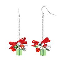 Christmas Gift Beaded Drop Earrings