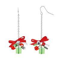 Christmas Gift Beaded Drop Earrings